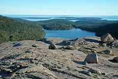 Summit of South Bubble & Jordan Pond (Mt. Desert Island, Maine, USA) 2