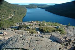 Summit of South Bubble & Jordan Pond (Mt. Desert Island, Maine, USA) 4