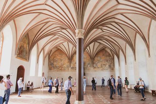 Die Marienburg (Zamek w Malborku) - Im Hochmeisterpalast