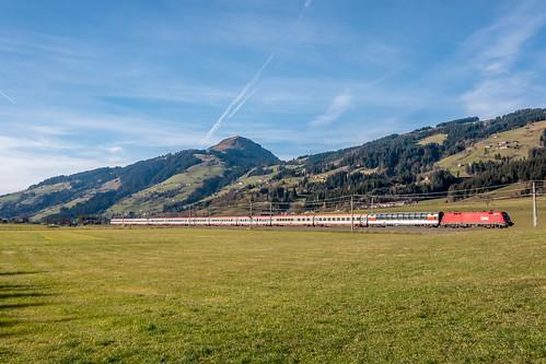 EC 163 Transalpin (Zürich - Graz) near Kirchberg in Tirol