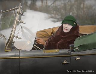 Opera singer Erica Darbow (1926)