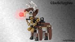 LEGO Rudolf Ornament