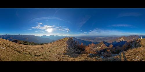 Ferlacher Horn, 360° Panorama