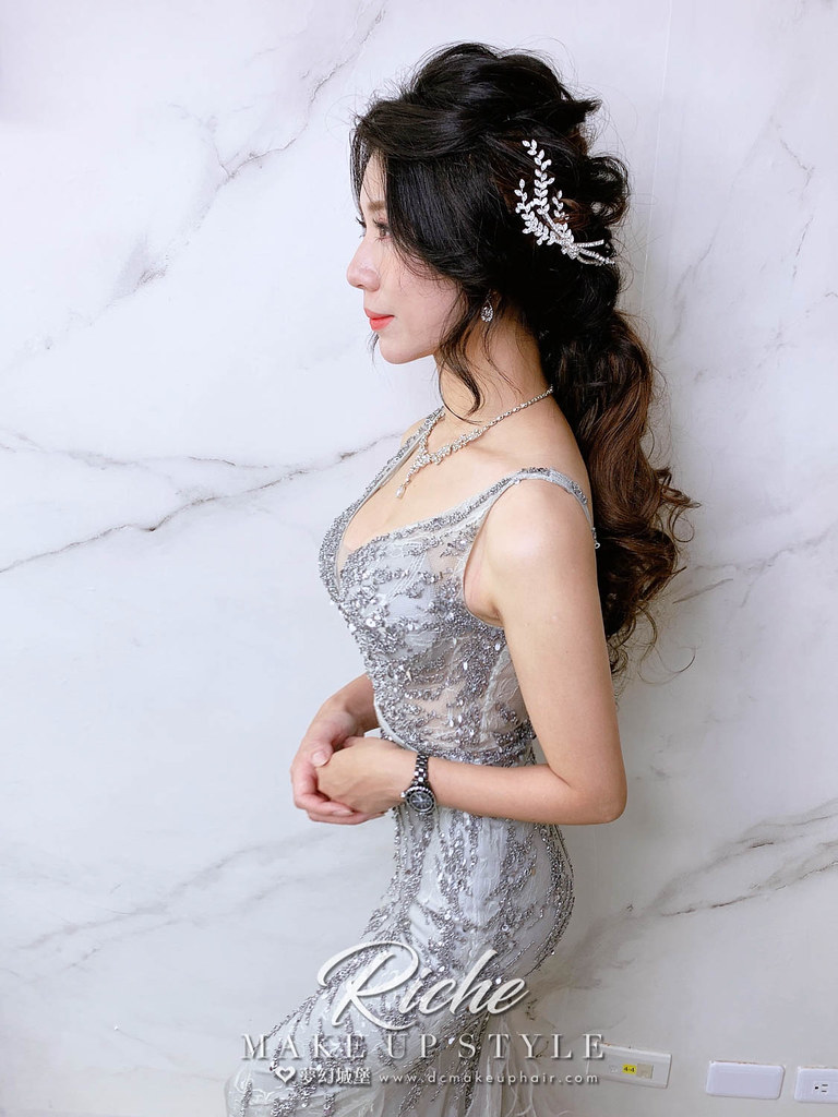 【新秘RICHE】新娘造型創作 /女神公主造型