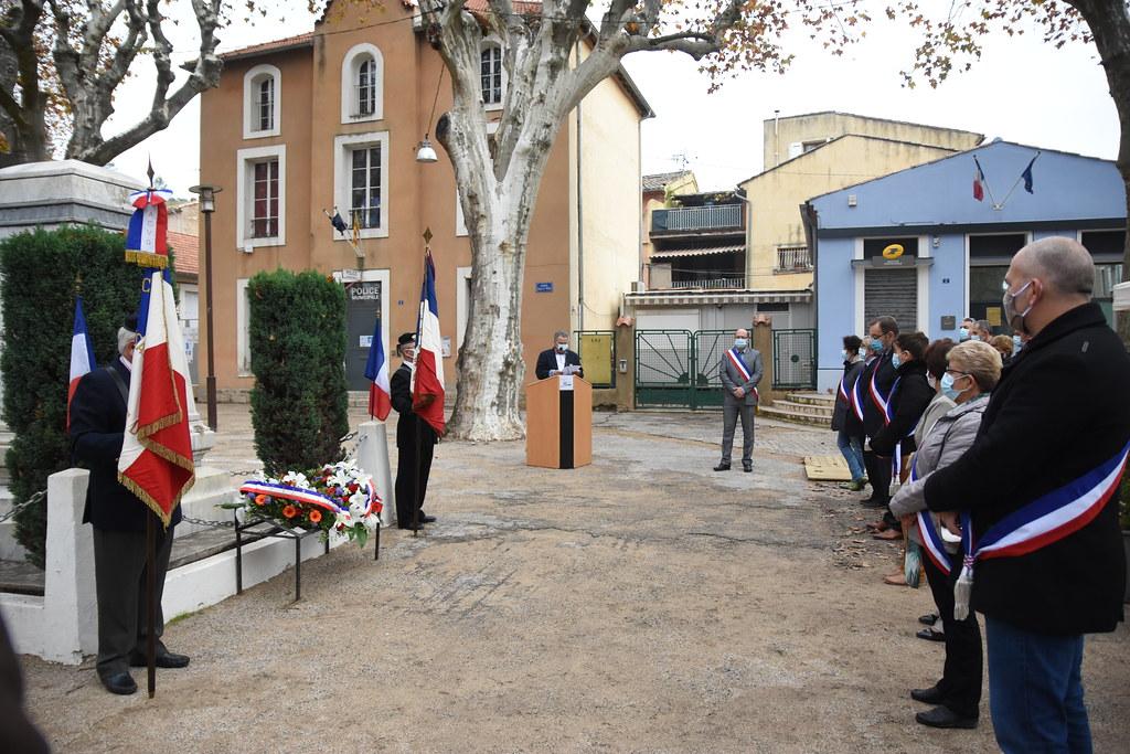 2020-11-11 - Cérémonie commémorative