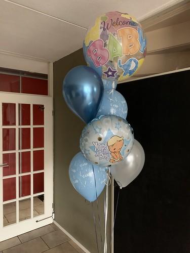 Ballonboeket Baby Geboorte It's a Boy  Babyshower