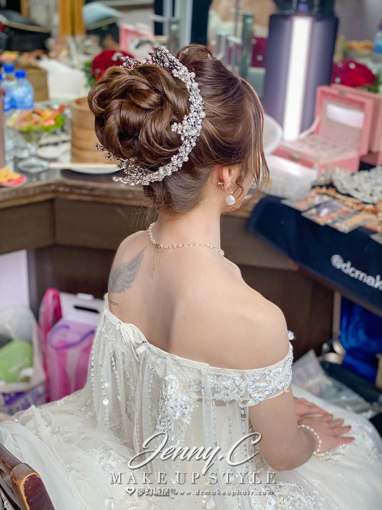 【新秘蓁妮】bride 芳萍 結婚造型 / 韓系浪漫,中式風格