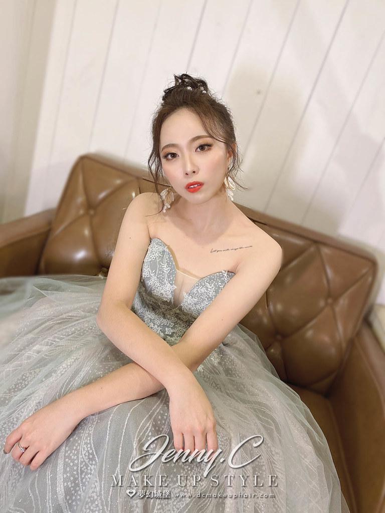 【新秘蓁妮】bride 倢亞 宴客造型 / 韓式自然