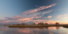 November 15, 2020 - Pastel clouds at sunrise. (Tony's Takes)