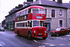 50 years of Darwen's buses - 462 GTD in anniversary livery, 1976