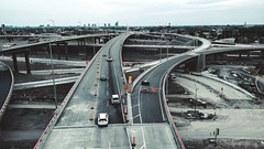 Criss-crossing highways
