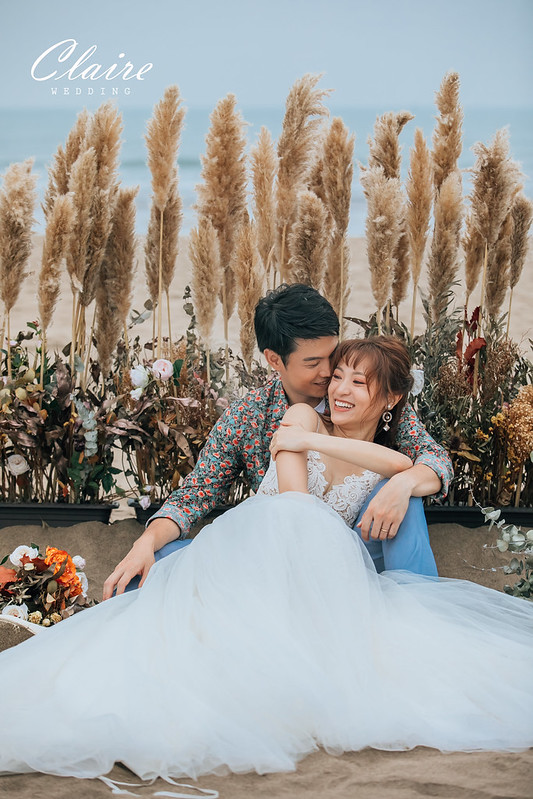 沙崙海灘,婚紗照