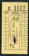 Photo of ticket - stokes carstairs 4d