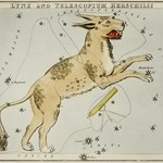 Sidney Hall's (1831) astronomical chart illustration of Lynx and the Telescopium Herschilii. Original from Library of Congress. Digitally enhanced by rawpixel. thumbnail