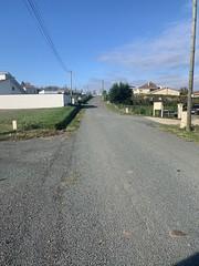 Travaux d'entretien Route de Garrigor