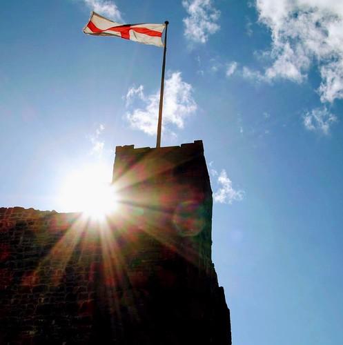 chris Sunlit Clitheroe Castle
