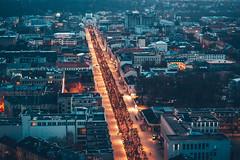 Christmas Lights 2020   Kaunas aerial #324/365