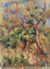 Landscape (Paysage) (1916) by Pierre-Auguste Renoir. Original from Barnes Foundation. Digitally enhanced by rawpixel.