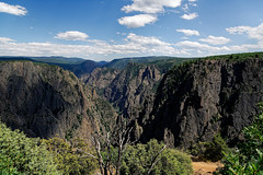 Suddenly I Saw the Open Chasm of Earth and Rocks at the Black Canyon (Black Canyon of the Gunnison National Park)