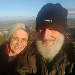 Photo of Malvern Hills - Maike and Ann on Mike's 70th