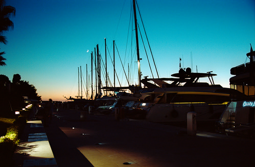 "Moon over Masts  (Nikon F6 / Portra 160) • <a style=""font-size:0.8em;"" href=""http://www.flickr.com/photos/65969414@N08/50629345776/"" target=""_blank"">View on Flickr</a>"
