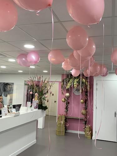 Heliumballonnen 1 Jaar Jubileum Skin Beauty Rotterdam