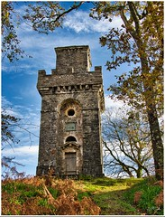 Photo of Lady Margaret's Tower, Benderloch, Scotland.