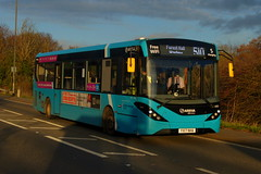 Photo of Sunday Sunset: Arriva Harlow ADL Enviro200MMC YX17NHA (4083) Stansted Road Stansted Mountfitchet 22/11/20