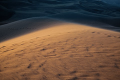 Winds Blowing Sand Across the Dunes of a National Park (Great Sand Dunes National Park & Preserve)