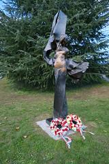 Hungarian Revolution of 1956 memorial @ Statue by Peter Parkanyi @ Parc du Château-Pictet @ Le Grand-Saconnex