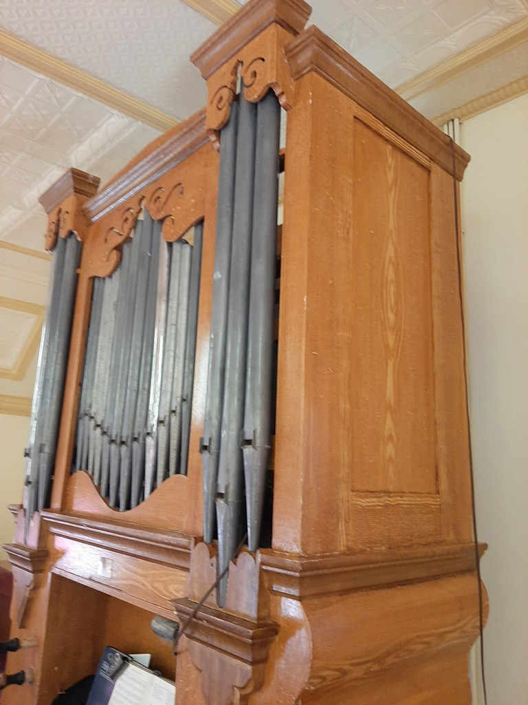 Point Pass near Eudunda. The historic Barossa Valley built Lemke pipe organ. Built in 1876 for the opening of Immanuel Lutheran church. Still in use.