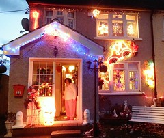Photo of Gillespie's House first house to be Lit up every Christmas for over 50 Christmases on Lough Conn Road
