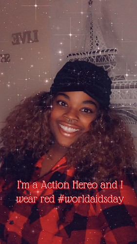 Action Heroes Wear Red - World AIDS Day 2020
