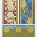 Aigle et chêne, aras et maïs, bordures. Poissons et oiseaux, frise from L'animal dans la décoration (1897) illustrated by Maurice Pillard Verneuil. Original from the The New York Public Library. Digitally enhanced by rawpixel.