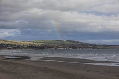 Photo of Lower Largo & Rainbow from Leven