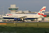 G-EUOA - 2001 build Airbus A319-131, arriving at a bright, sunny Manchester