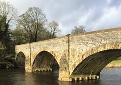 Stonework at Brungerley Bridge
