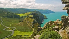 Photo of The Valley of the Rocks, Exmoor, Devon