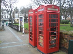 Photo of Red Phoneboxes at Southport