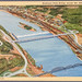 Highland Park Bridge across the Allegheny River - Hubbard Aerial View - 9A-H1455 790