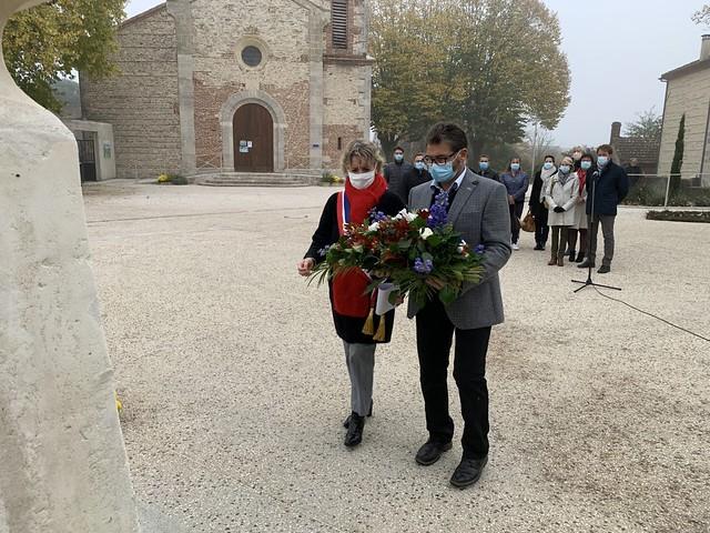 Cérémonies commémoratives du 102ème anniversaire de l'Armistice de 1918