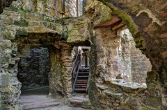Photo of Dirleton Castle - interior - East Lothian, Scotland