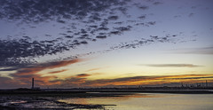 Photo of November sunset over Fawley
