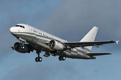 Photo of LX-GJC Airbus A318-112CJ Elite EGPH 23-02-20