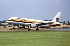 Photo of G-MONW A320 Monarch Luton 03-08-01