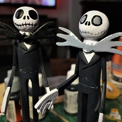 Photo of Christmas Pegs - Jack Skellington