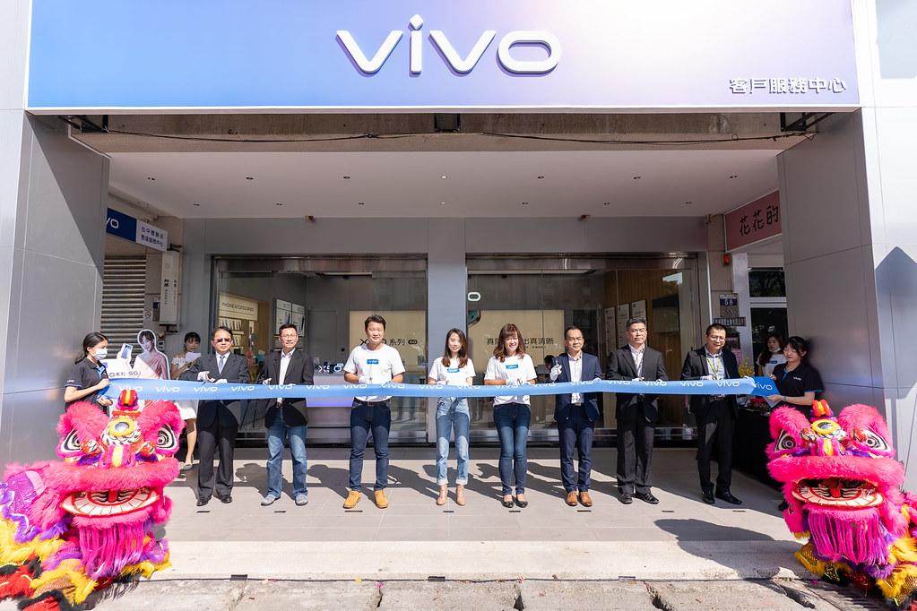 vivo今在台中開設首間結合客戶服務中心的複合式體驗店