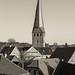 Hattingen / Ennepe-Ruhr-Kreis: Dachlandschaft mit Turm der St.-Georgs-Kirche