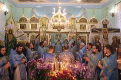 25/11/2020 - Архиерейское богослужение в день памяти иконы Божией Матери «Милостивая»