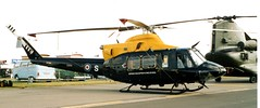 Photo of ZJ234 / G-BWZR Bell 412EP Defence Training Services RIAT 2002